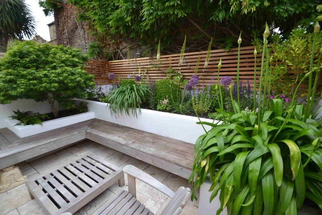 Floating Bench Living Colour Gardens